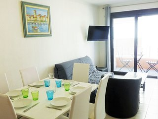 2 bedroom Apartment in Canet-Plage, Occitania, France : ref 5552269