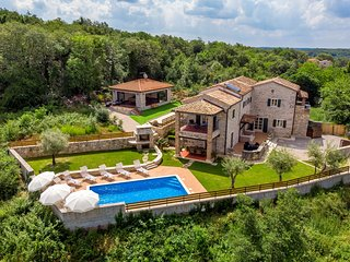 Charming Stone Villa Lea&Tea with private Pool in Istria