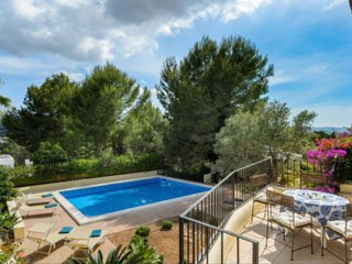 Mediterranean villa with sea and sunset views - 1-8 September Special offer