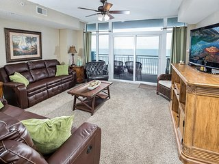 Ocean Blue Resort 602; Ocean Front, 4 bedroom, 4 bath, Sleeps up to 10
