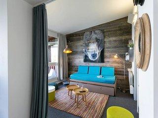 Appartement renove dans residence calme proche pistes et commerces
