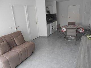 Appartement neuf en 2 pieces cabine