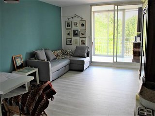 ARCACHON, quartier Saint Elme, grand studio d'envion 40 m² avec vue sur parc boi
