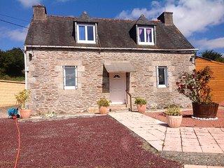 Maison typique Bretonne à la campagne