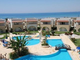 Poolside and Beachfront 2 Bedroom Apartment, Sunrise Beach Club, North Cyprus