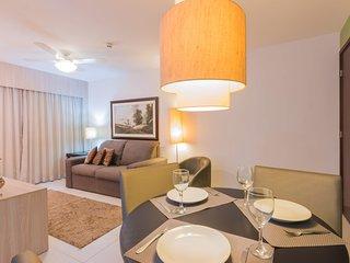 NOB2105 Excellent Flat in Boa Viagem 2 bedrooms at Bristol Recife Suites