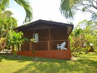 Beautiful Log Cab-inn with All amenities.A/C, Wifi, Pool, restaurant and staff 1