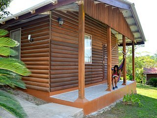 Beautiful Log Cab-inn with All amenities.A/C, Wifi, Pool, restaurant and staff 2