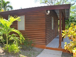 Beautiful Log Cab-inn with All amenities.A/C, Wifi, Pool, restaurant and staff 3