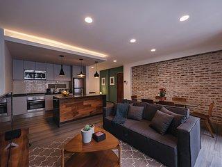 Stylish 2BR apartment in Condesa