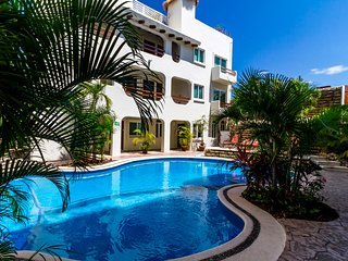 Penthouse with rooftop plunge; Great downtown location Playa del Carmen PK25