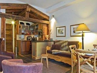 Superbe 2 pièces dans une résidence historique , face au Mont Blanc