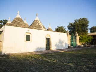 Trulli dell'Aia in Santalachicca Farm