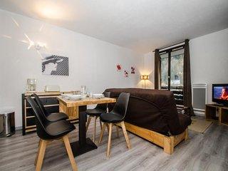 2 pièces + cabine pour 4/6 personnes proche du centre de Chamonix