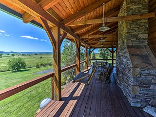 Spacious Spearfish Home on 40 Acres w/Private Lake