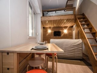 Très joli studio entièrement rénové au coeur de Chamonix