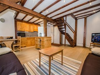 Bel appartement sous pente à proximité de l'Aiguille du Midi