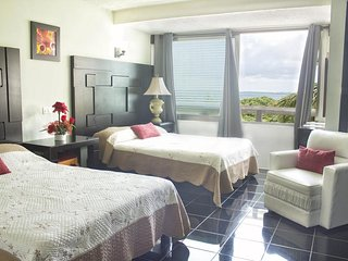 In Hotel Zone Beach Front Condo with Lagoon View - 3704 at Rodero by Solymar