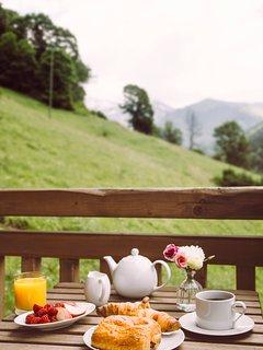 Breakfasts on the terrace