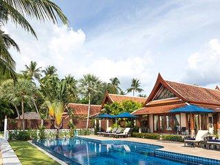 Tawantok Beach Villa 1 - an elite haven, 5BR, Lipa Noi