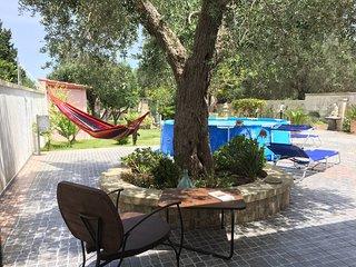 Villa a San Foca grande giardino e piscina 8 posti 2 bagni per Vacanze Relax