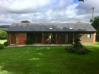 Luxury modern self catering cottage.