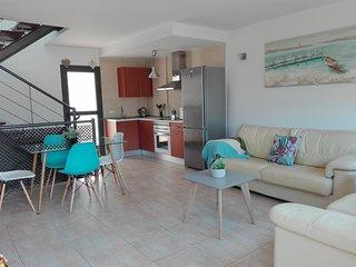 Apartamento junto al mar.