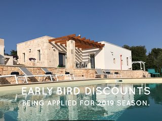 Experience Trullo Falco luxury interiors,Pool,Wi-Fi,Unbeatable tranquil location