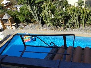 Appartamento privato in villa con piscina