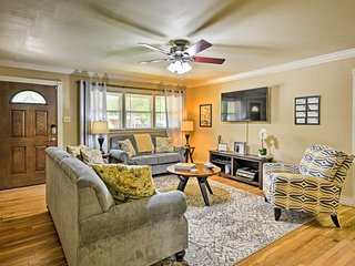 Cozy Lubbock Home Mins from Texas Tech & Downtown!
