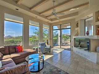 NEW! Home w/Pool & Hot Tub in Red Mountain Ranch!