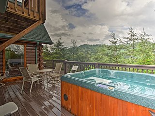 Sevierville Cabin w/ Game Room & Mountain Views!