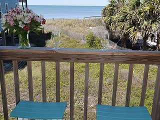 Amazing views, 50 steps to the water,  Covered porch, Chairs/ Umbrellas