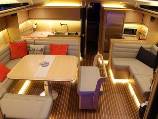 Nuit insolite sur un voilier de luxe