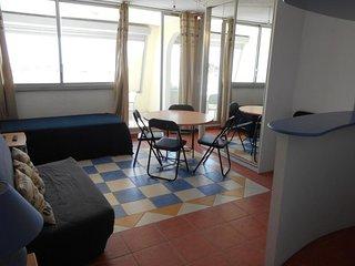 Studio cabine vue mer dans résidence avec piscine