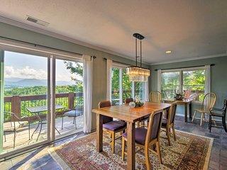 NEW! Private Franklin 'Big Oak Villa' w/ Mtn Views