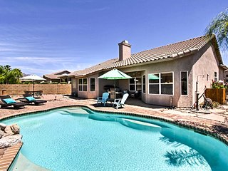 NEW! Tucson Home w/Pool & Santa Catalina Mtn Views