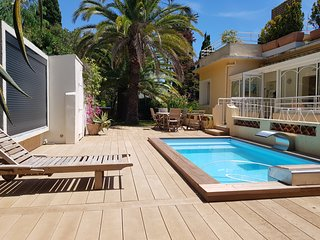 NEW ! Renovated with pool ! Cannes Sea view Rooftop Penthouse with 600m2 garden