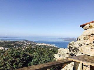 Agence Propriano Location : Somptueuse villa entre ciel et mer