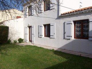 Maison type 6 avec jardin clos