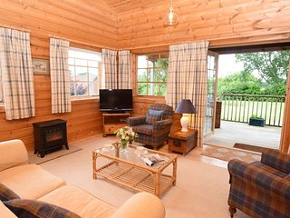 61027 Log Cabin situated in Blandford Forum (5mls NW)