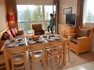 appartement lumineux avec belle vue