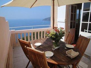 Appartement T3 de 55 m² avec 2 terrasses dont une avec vue mer panoramique sur l