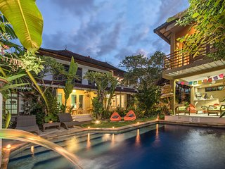 Angel House Ubud. Whole Villa Rental in 3 private suites/6 adults.