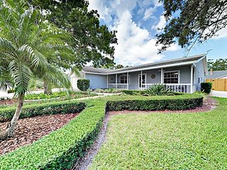 Manatee River Views! River District Home with Lanai | Near Beach & Downtown