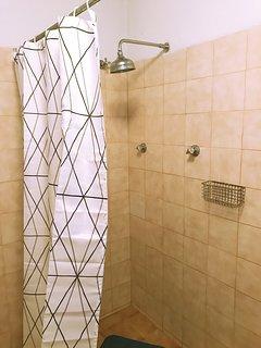 Shower for the economic triple studio