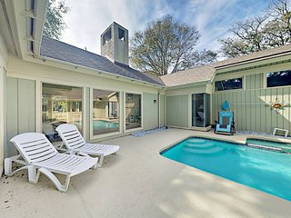 Exceptional 4 Br Home with very cool pool in Palmetto Dunes