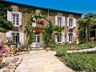 MAISONDELABOTTE  Elegant 19th century period house,with heated indoor pool.