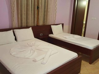 Bed Room #3 Hotel Milo Apartments Ksamil