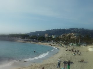 Beach at walking distance , Cannes and Antibes near . Two bedrooms, garden,